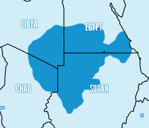 Because I Love Sand And The Rest Of The Middle East Too - Map of egypt libya and sudan