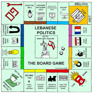 Lebanese-Politics-Game