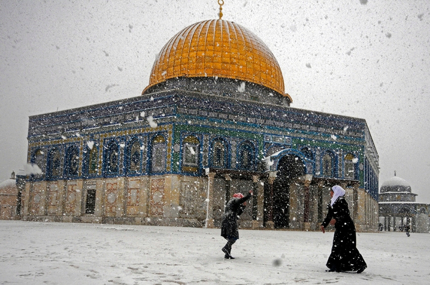 Mideast Israel Palestinians Weather